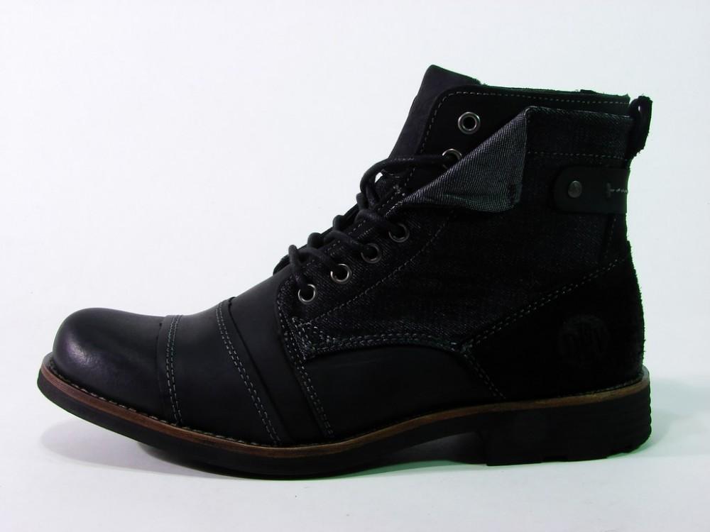 Cikkszám  DEGM1003LE16FWBLK. Devergo cipő magasszárú OSAKA 8050238dc2