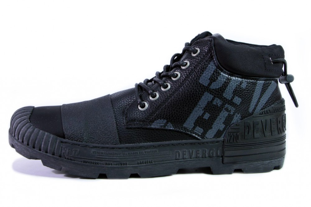 1e5eb92030 Cikkszám: DECF8020PU18FWBLK. Devergo cipő magasszárú METEOR PU