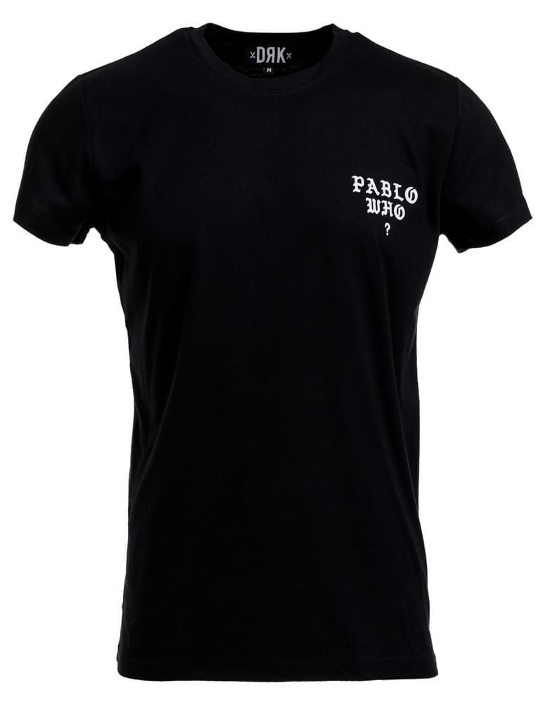 DARK  PABLO LOGOT-SHIRT MEN BLACK